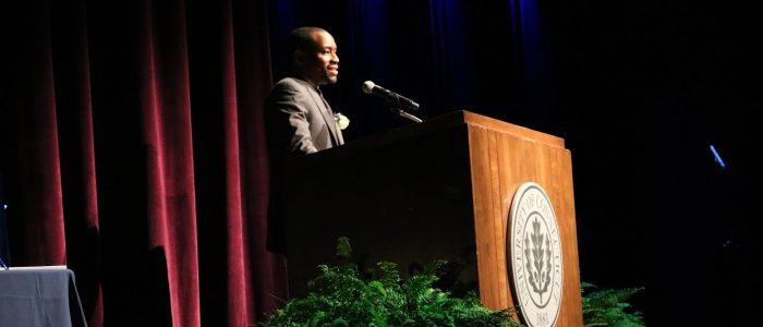 UConn Martin Luther King Jr. Day of Observance 2017 Keynote Speaker Dr. Marc Lamont Hill